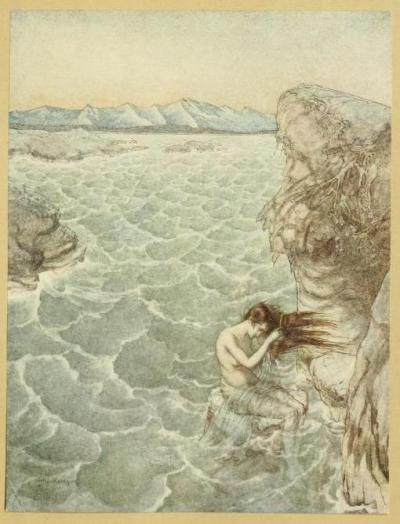 Milton's Comus, 1921Illustrations by Arthur RackhamFair Ligea