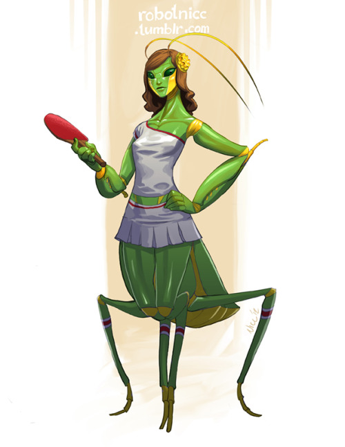 robotnicc:  Day 13 - Insect Girl
