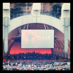 I'm around my kind of people! @hollywoodbowl #pixarinconcert #disneynerds #disney #hollywoodbowl  (Taken with Instagram)