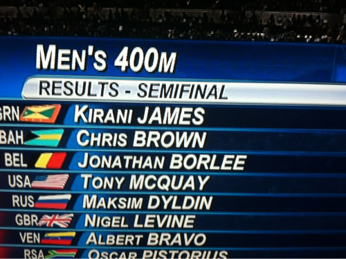 Chris brown is now beating people in the olympics