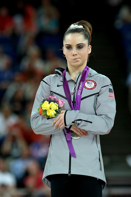 (via McKayla Maroney's Silver Medal, In Pictures - From Our Editors - SBNation.com)