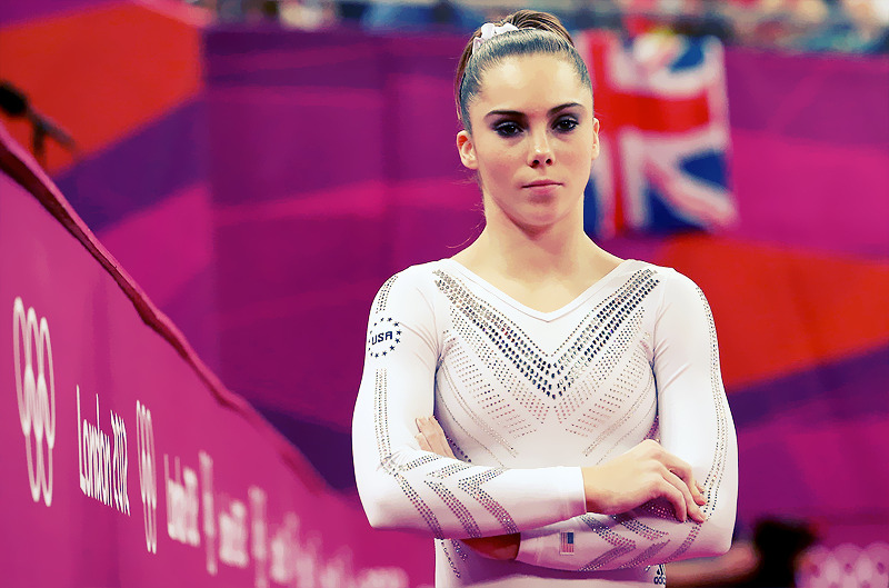 OLYMPICS DAY 9 McKayla Maroney looks on during Gymnastic Women's Vault FinalPhoto by Ronald Martinez