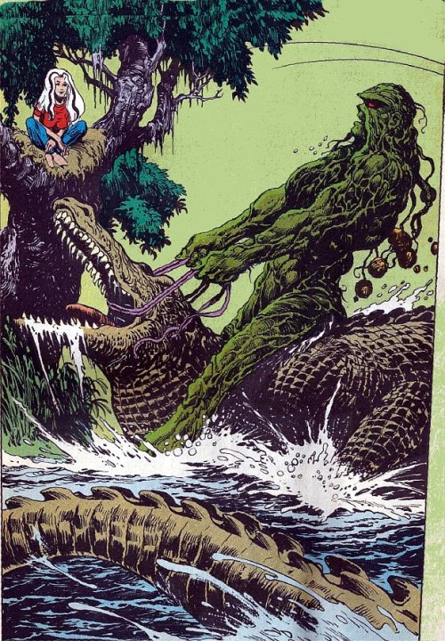 Ride `em Swamp Thing!