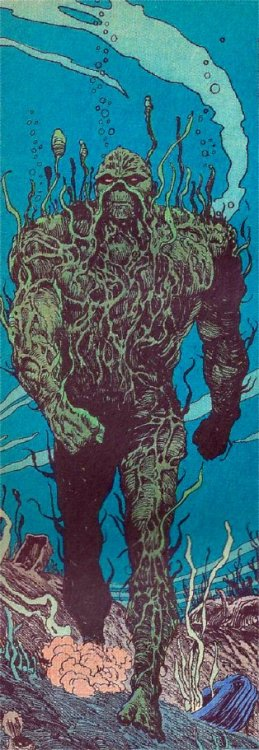 Swamp Thing from Swamp Thing # 64, from 1987