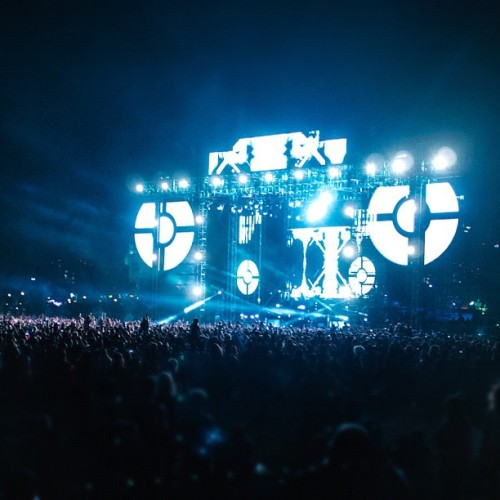 #hardsummer #hardfest #nero #lasers (Taken with Instagram at HARD Summer 2012)