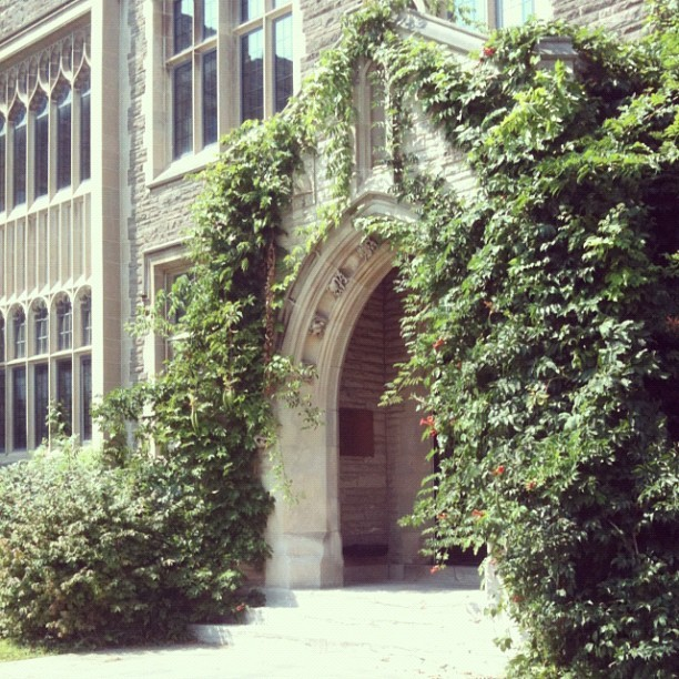 justawkwardlyhere:  Three-ish more weeks #McMaster (Taken with Instagram)