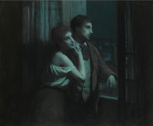Reverie by Charles-Amable Lenoir