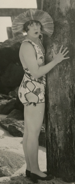 Mack Sennett bathing beauty, Thelma Hill, by George Cannons