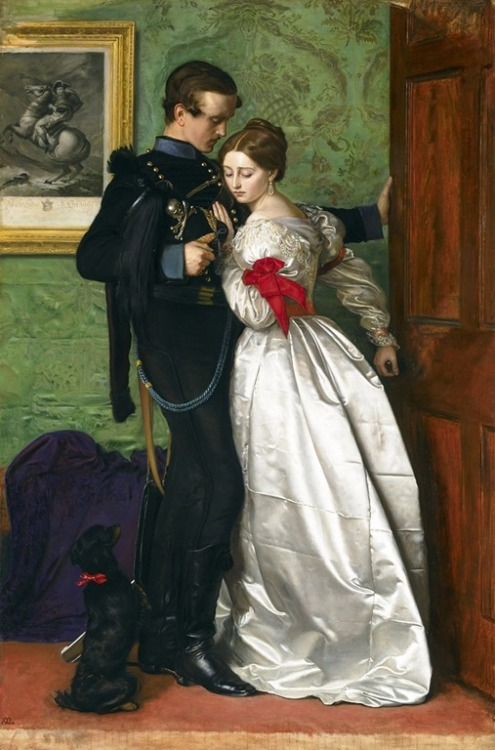 The black brunswicker - Sir John Everett Millais