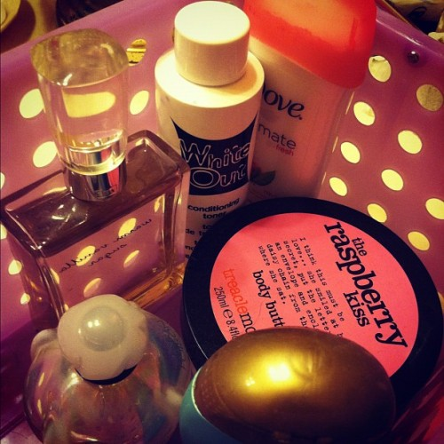 #pretty #box of goodies (Taken with Instagram)