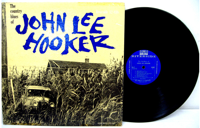 "John Lee Hooker ""The Country Blues of John Lee Hooker"" LP - Riverside Records, US (1959)."