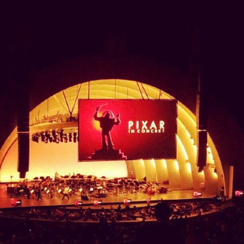 enjoying Pixar in concert with the bff and the bf (Taken with Instagram)