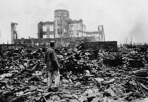 The atomic bombing of Hiroshima, Japan - 67 years ago today.