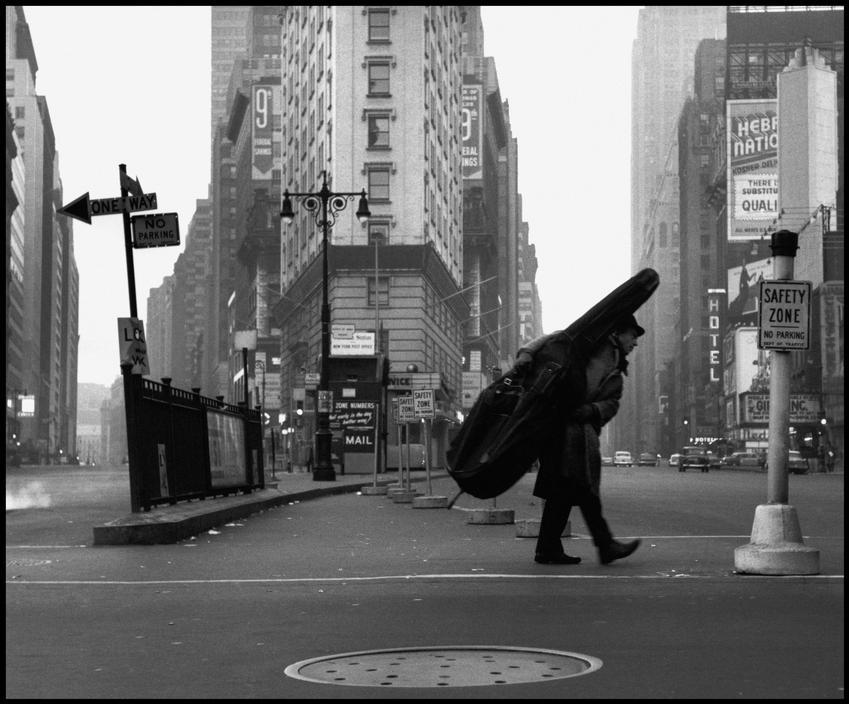 Bill Crow. New York, 1958. By Dennis Stock
