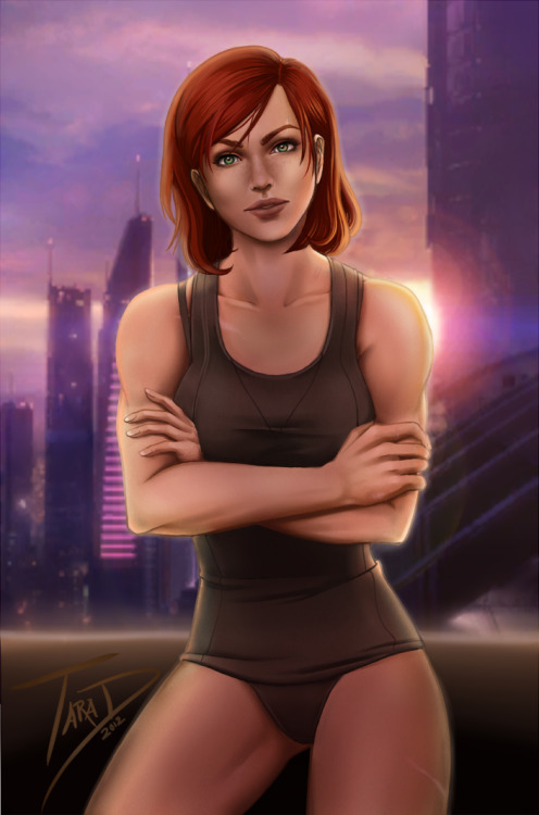femshepfit:  (Devious by Sorael-Ignis) Here, Tumblr. Have some AWESOME FemShep fan art. It'll make you happy, I promise.