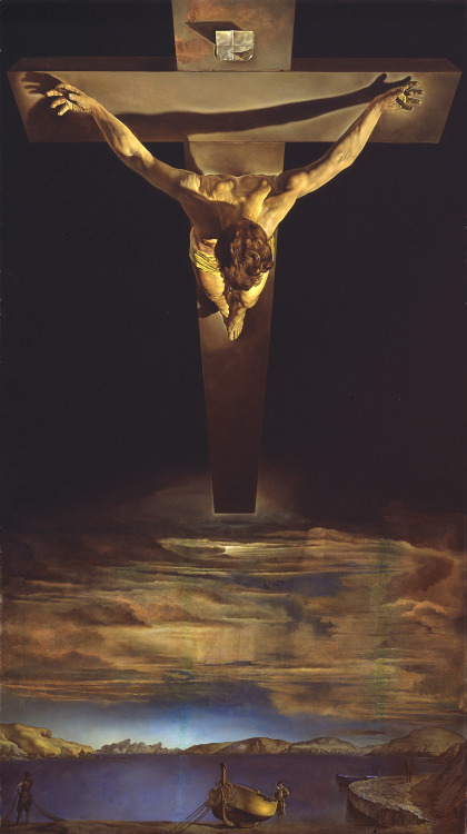 Christ of St. John of the Cross - Salvador Dalí