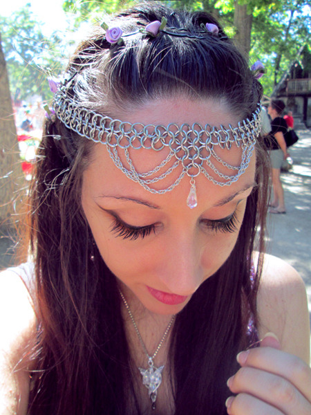 I bought this circlet and a few other things from the faire today.