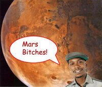 "Mars, bitches. ""LET THE SCIENCE BEGIN!"" (via)"