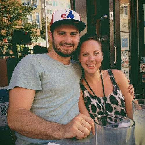 Dinner tonight with these love birds: @timberbec and @relentless888! (Taken with Instagram at Cyclops)