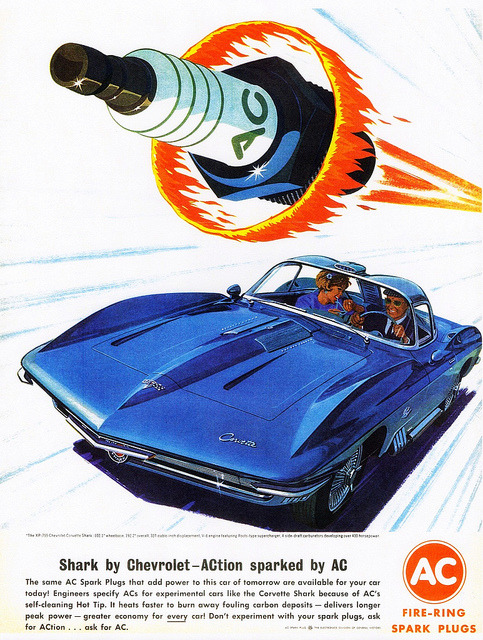 1962 Chevrolet XP-755 Corvette Shark Experimental Car by aldenjewell on Flickr.1962 Chevrolet XP-755 Corvette Shark Experimental Car