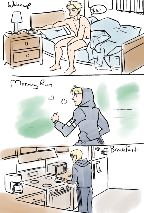 hackedmotionsensors:   OTP Challenge 16. Morning Routine