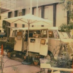 #Volkswagen bus as a #cafe #vintage  #retro #tokyo #japan #travel (Taken with Instagram)