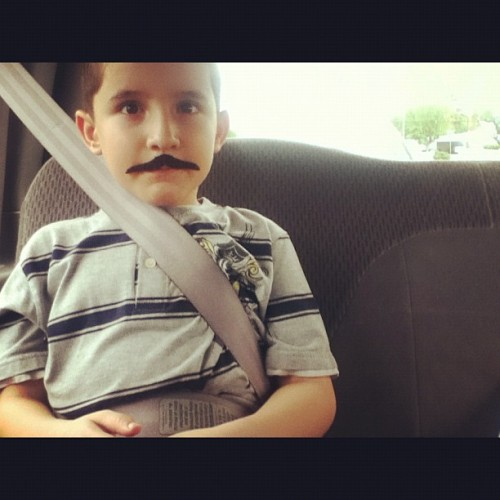My lil brother thinks his cool. #bro (Taken with Instagram)