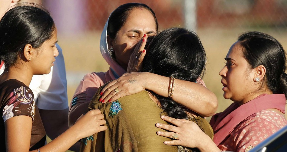 SIKH TEMPLE SHOOTING: Tragedy strikes the Sikh community of a US suburb in Milwaukee. For the full story and more images. (Image: Reuters)