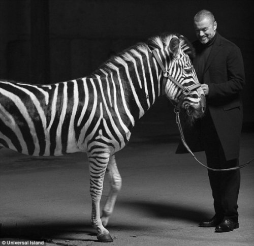 It is not every day you see George Michael with a zebra, nor every day you find out about a dead cat that has been turned into a remote controlled helicopter. I wrote a letter to it's inventor. Which you can read by clicking on George Michael (or the nearby Zebra)