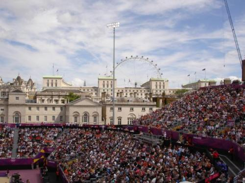 @DannyGermany: Horse Guards Parade Olympic Games 2012-hottest venue in town @LO2012 @London2012 #wirfuerd  @Lon2012don @Olympics http://t.co/HFyzAic5