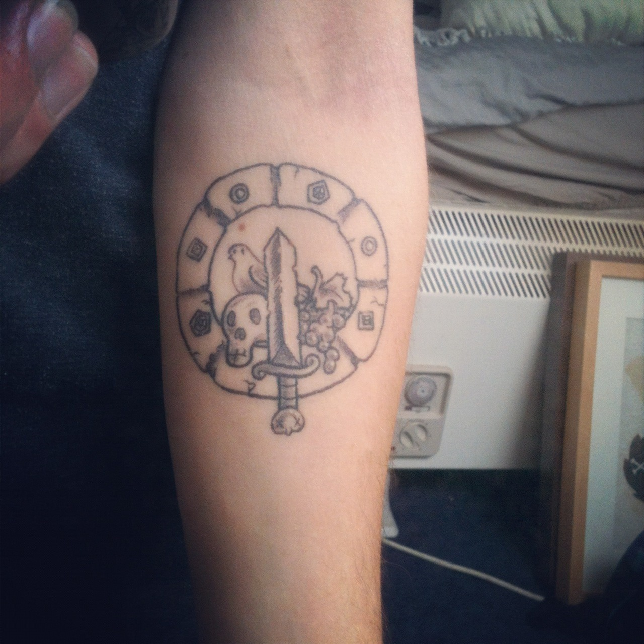 Morning skyrail i have an adventure time tattoo just for Adventure is out there tattoo