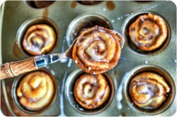 Cinnamon swirls, yum!