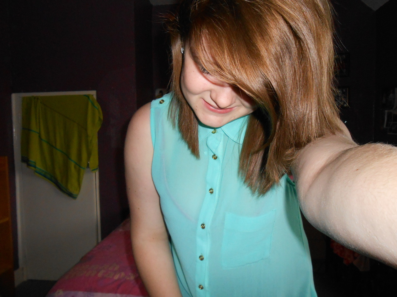 tw44t:  my new green top c: