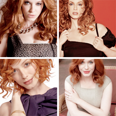 002/100 favorite pieces of eye candy ⟶ christina hendricks