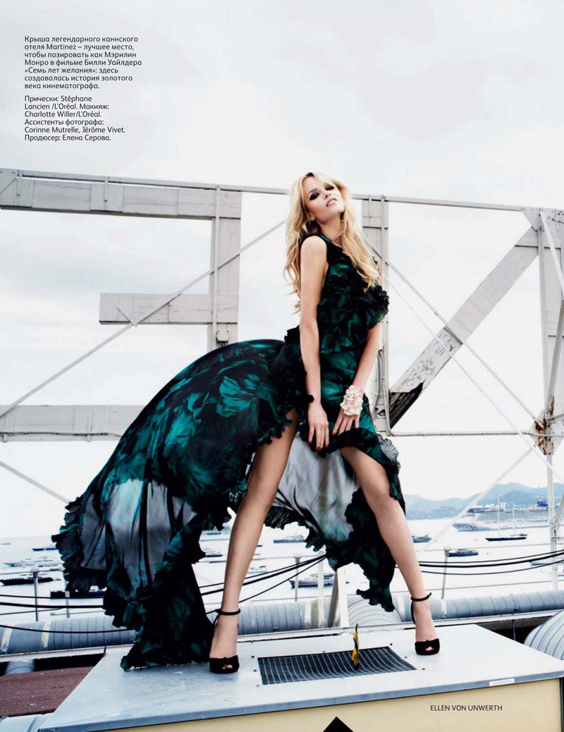 mirnah:  Natasha Poly by Ellen von Unwerth for Vogue Russia