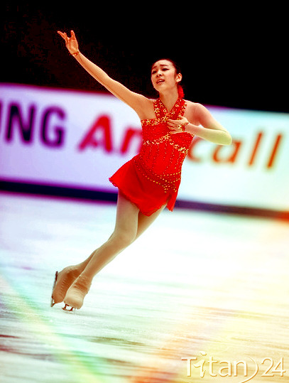 Yuna Kim - FS. Scheherazade @ 08 Cup Of China