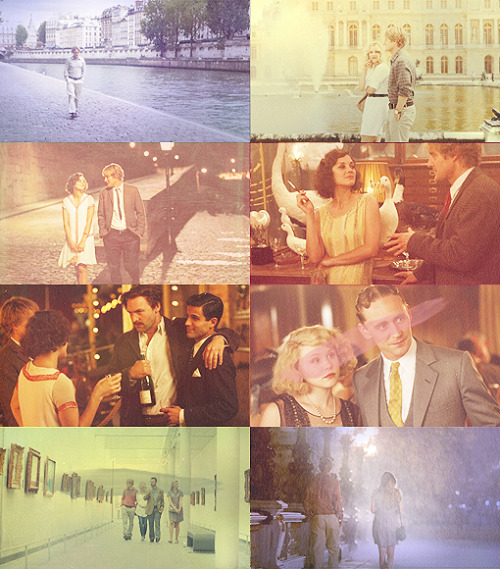 heavenlynfire:  My favorite films list → Midnight in Paris, 2011,  - I can never decide whether Paris is more beautiful by day or by night.- No, you can't, you couldn't pick one. I mean I can give you a checkmate argument for each side. You know, I sometimes think, how is anyone ever gonna come up with a book, or a painting, or a symphony, or a sculpture that can compete with a great city. You can't. Because you look around and every street, every boulevard, is its own special art form and when you think that in the cold, violent, meaningless universe that Paris exists, these lights, I mean come on, there's nothing happening on Jupiter or Neptune, but from way out in space you can see these lights, the cafés, people drinking and singing. For all we know, Paris is the hottest spot in the universe.