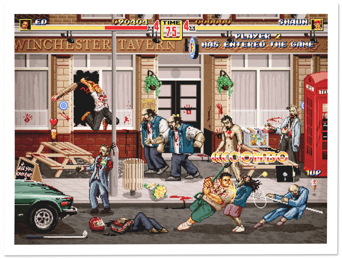 aledlewis:  Player 2 Has Entered The Game My piece for Gallery1988's Crazy 4 Cult show in NYC, opening this Thursday. More info on my Facebook Page!