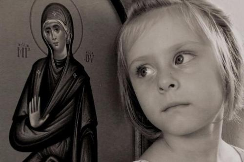 May the Most Holy Theotokos keep all the children under her protection!