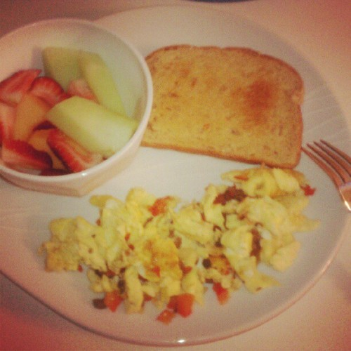 A great way to start off my day #Breakfast  (Taken with Instagram)