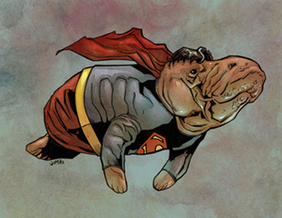 Supermanatee