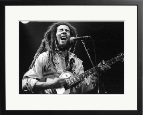 Happy Jamaican Independence day: Bob Marley performing at The Roxy Theatre, Los Angeles, California.
