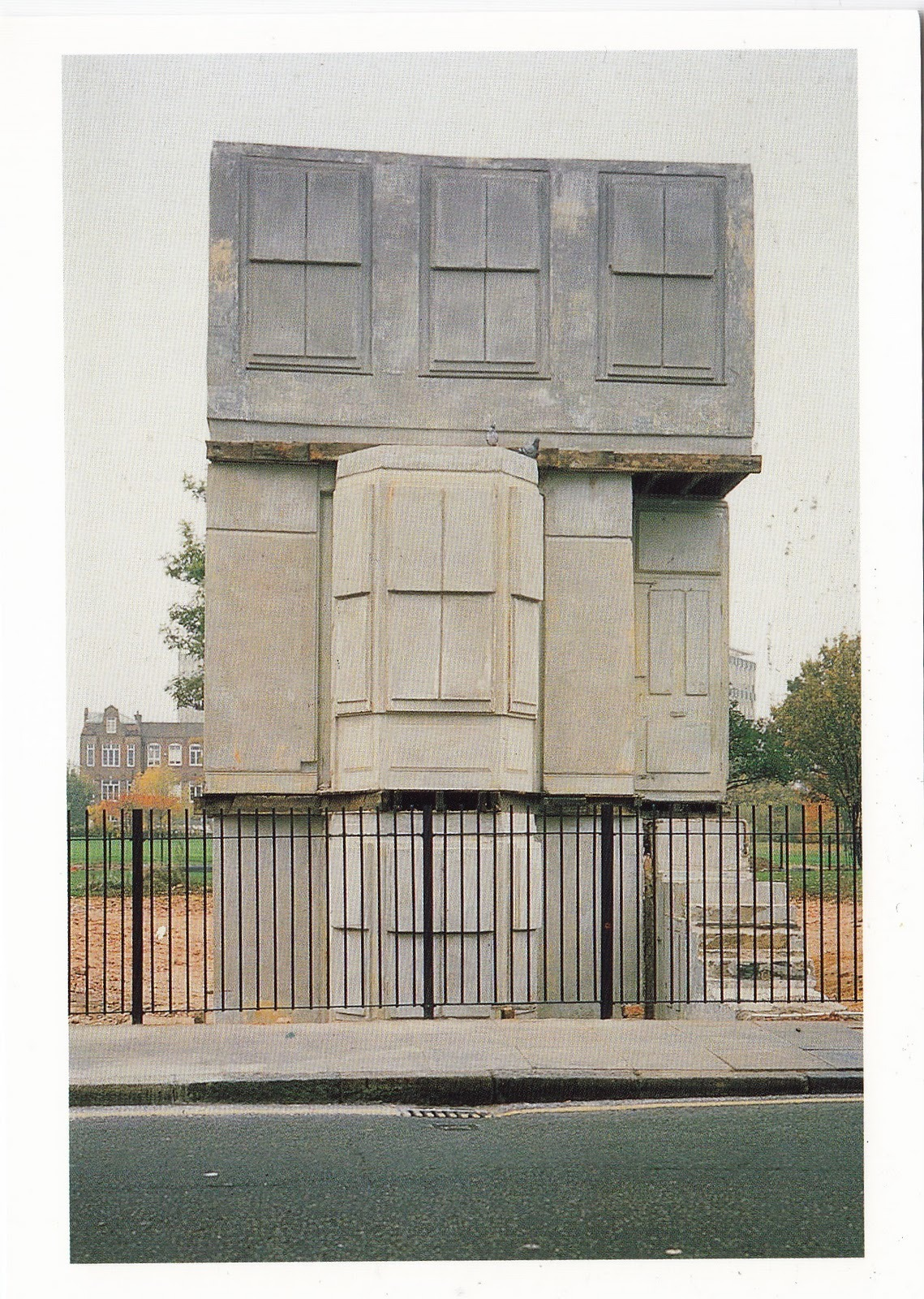 A reminder of how to do it by Rachel Whiteread.