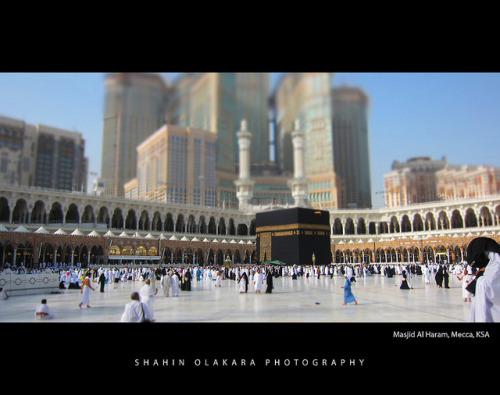 hsbtndgn:  Kaaba, Masjid Al Haram, Mecca by shahin olakara on Flickr.