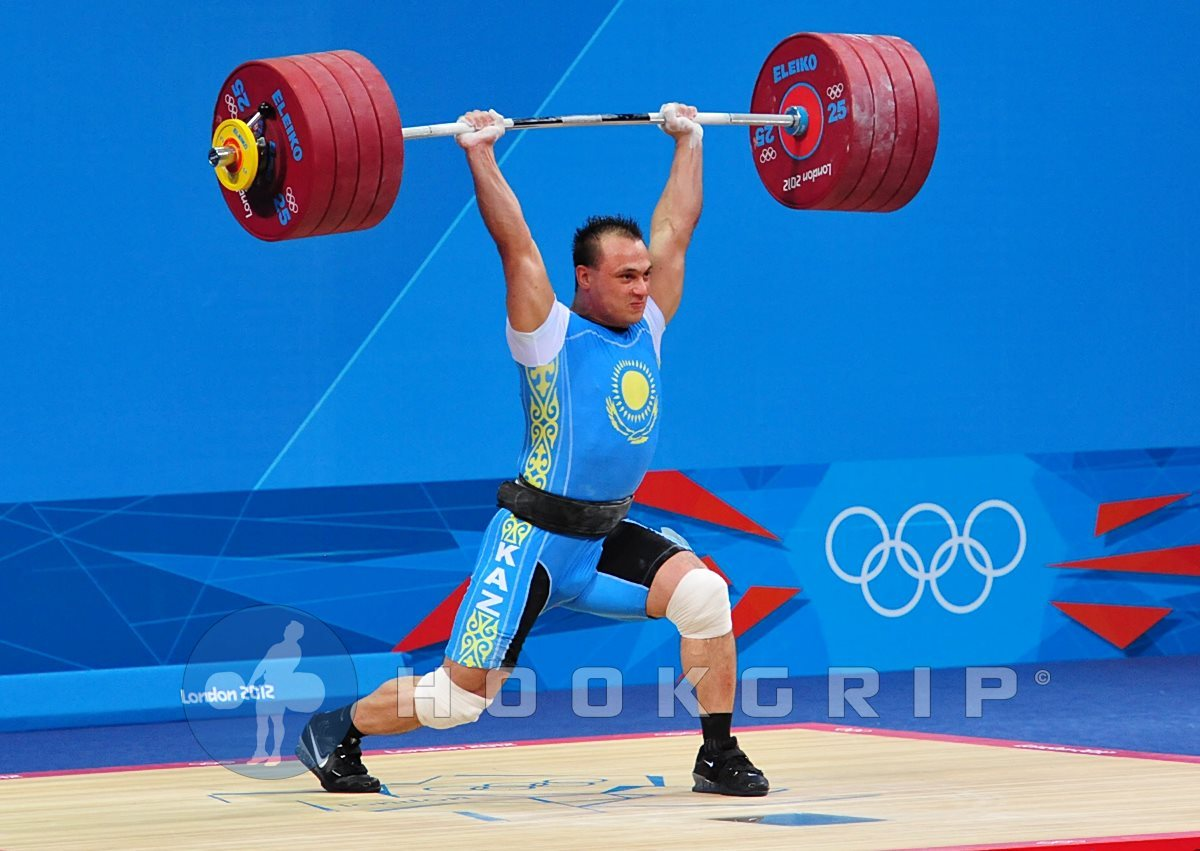 Ilya Ilyin of Kazakhstan competed in the 94kg division at the Olympics and made quite a statement of strength.  He set 2 new Olympic records and 2 new world records with his lifts. A man weighing 207 pounds, snatched 185kg (407lbs) and had a successful clean & jerk of 233kg (512.6lbs) for a new Olympic and world record.  His total of 418kg (919.6lbs) was also a new Olympic and world record. The most I have gone over head has been 245lbs, and that felt pretty darn cool.  But this guy…..This guy put nearly 513lbs over head.  That is about 305lbs more than he weighs.  If you watch the video, he charged the lift, too.  He did not require a lot of time to think, get reset, or anything of the sort.
