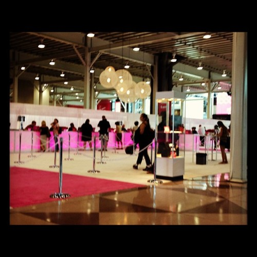 Intermezzo morning (Taken with Instagram at Jacob Javits Convention Center)