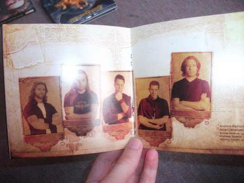 Waiting In The Wings booklet.