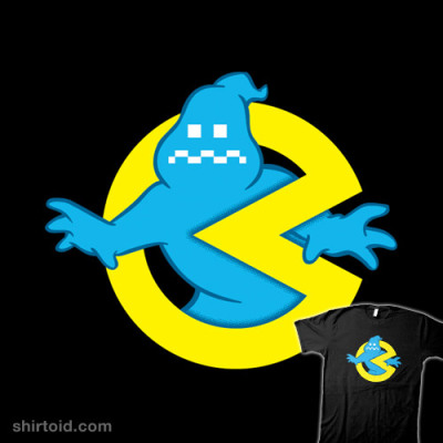 shirtoid:  Bustin' Makes Me Feel Full by Ryan Astle is $10 today only (8/6) at Shirt Punch