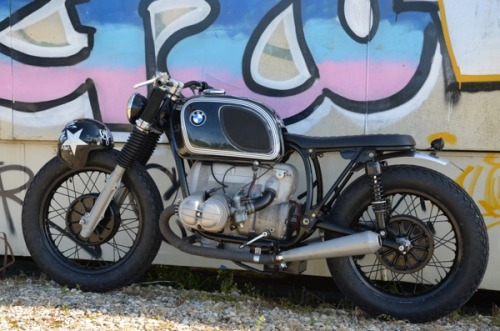 French outfit Bobber Fucker have released their 12th bike. A BMW R60/6 Street Tracker.  Like us on FB