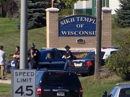 Authorities name alleged gunman in Wisconsin Sikh temple attack Updated at 7:53 a.m. ET: The alleged gunman in Sunday's killing rampage at a Sikh temple in southern Wisconsin is Wade Michael Page, authorities told NBC's Pete Williams Monday.  Page, who served in the Army from April 1992 through October 1998, allegedly killed six people at the temple and wounded three before he was shot and killed. According to the Southern Poverty Law Center, Page is the former leader of a neo-Nazi music group called End Apathy.    Read the complete story.
